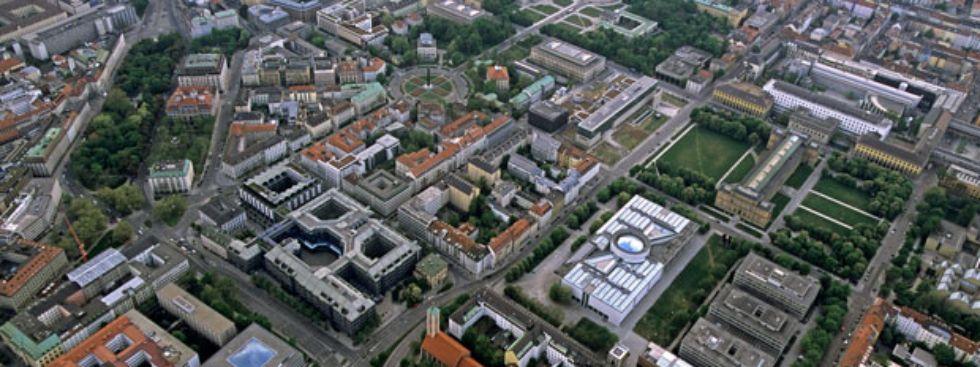 Kunstareal München Panorama, Foto: Kunstareal München