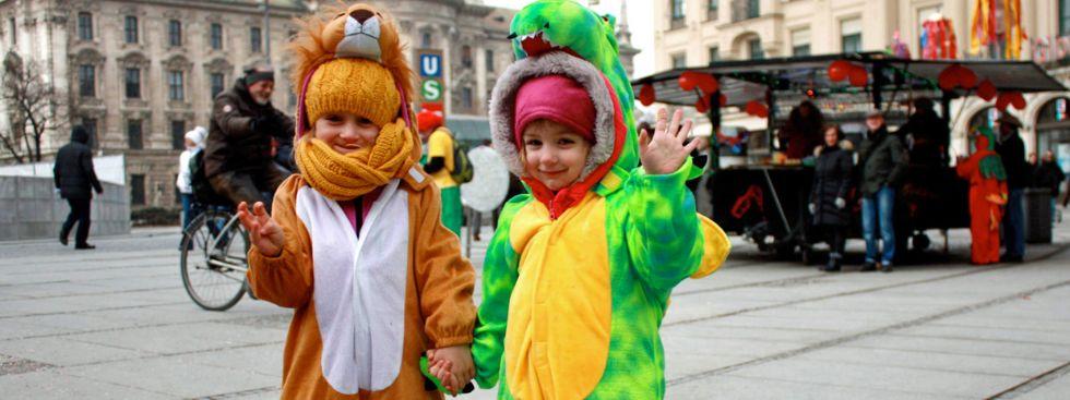 Kinderfasching in München, Foto: Leonie Liebich
