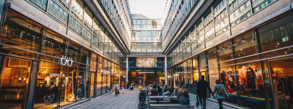 Shopping Mall official Website fr Munich