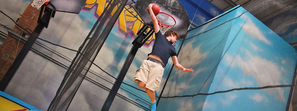 AirHop Basketballkorb, Foto: AirHop