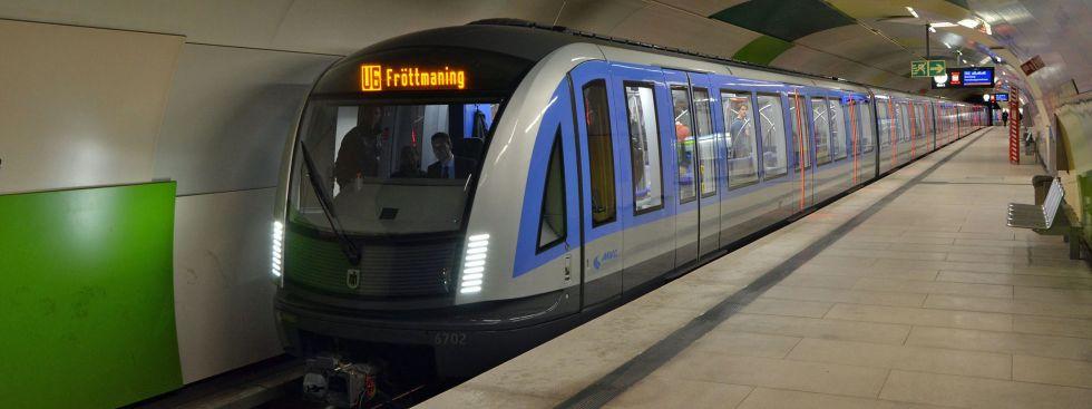 Erster Einsatz für neue U-Bahn vom Typ C2, Foto: Wolfgang Wellige / MVG