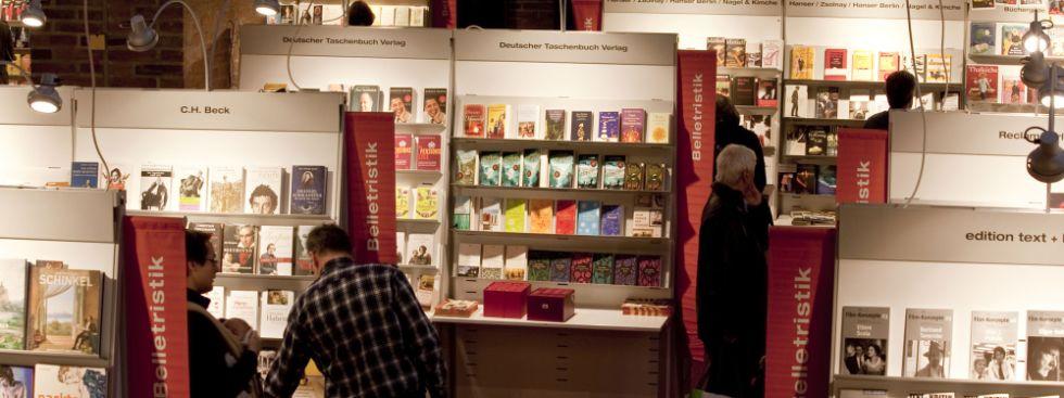 Münchner Bücherschau im Gasteig, Foto: Kerstin Dahnert