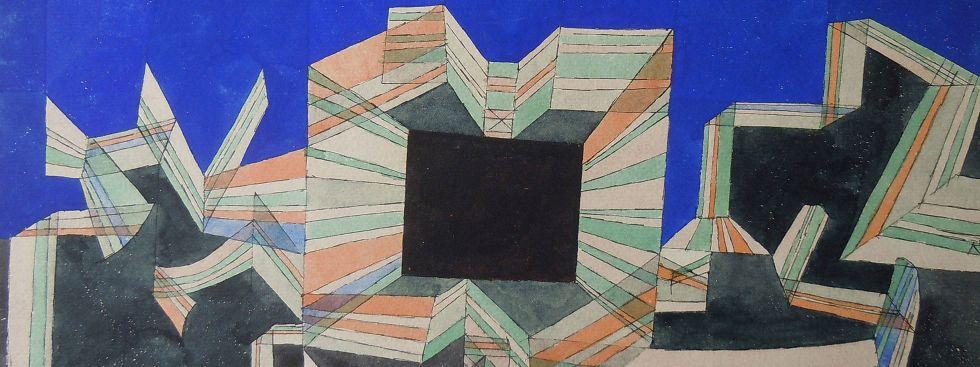 Paul Klee, Das Tor der Nacht, 1921, Foto: Zentrum Paul Klee, Bern, Bildarchiv