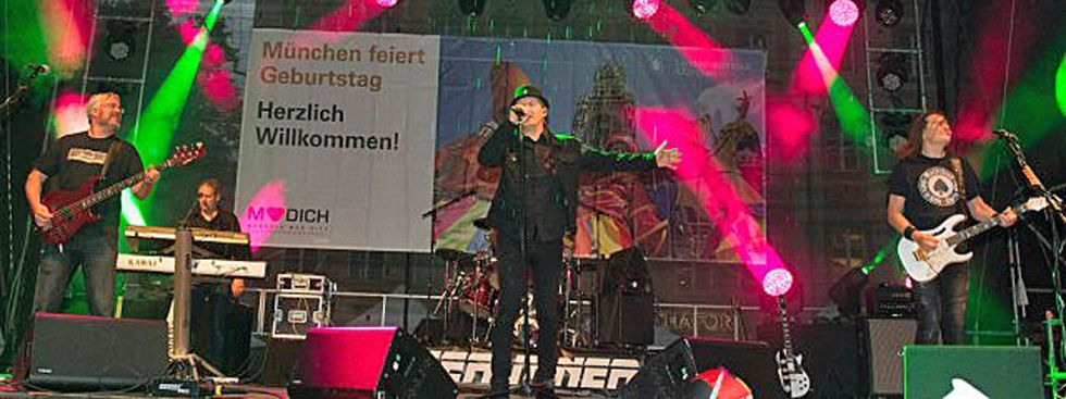 Stadtgründungsfest Band, Foto: muenchen.de / Katy Spichal