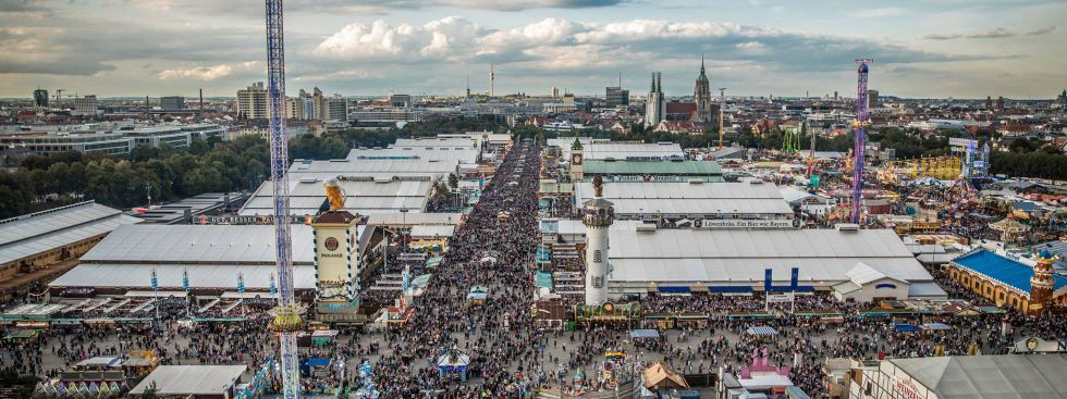 Oktoberfest-Panorama, Foto: Exithamster