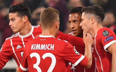 FC Bayern gewinnt gegern RSC Anderlecht