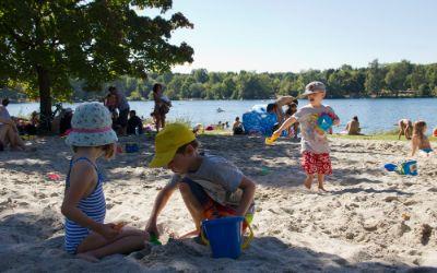 Sandkasten am Feldmochinger See