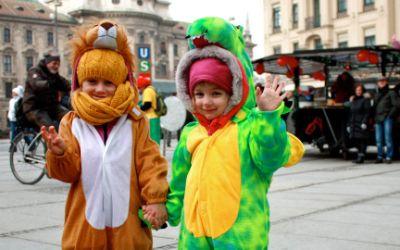 Kinderfasching in München