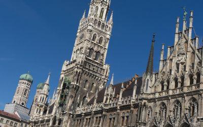 Das Rathaus am Marienplatz