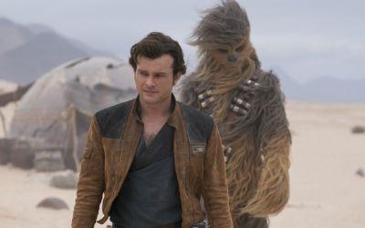 "Szene aus dem Film ""Solo: A Star Wars Story"""