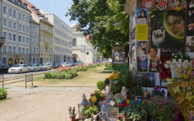 Promenadeplatz in der Innenstadt