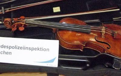 Wertvolle Landolfi-Geige wieder da