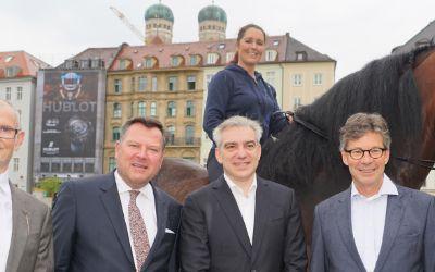 Markwardt, Josef Schmid, Apassionata-Reiterin Daphne de Visser, Peter Massine, Thomas Freiherr von Stenglin