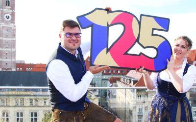 Das Faschingsprinzenpaar 2018 Sebastian I. und Janina I.
