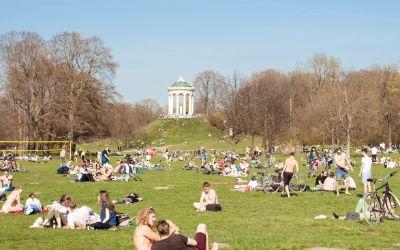 Münchner Sehenswürdigkeiten - Englischer Garten