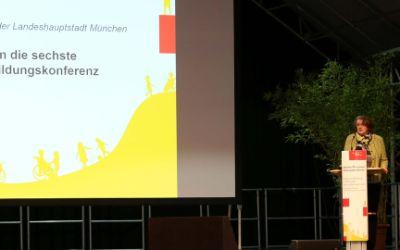 Eröffnung der 6. Münchner Bildungskonferenz.