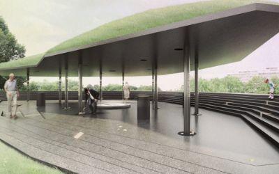 Entwurf der Olympiagedenkstätte