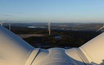 Der Onshore-Windpark Sidensjö in Schweden.