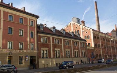 Augustiner Brauerei in der Landsberger Straße