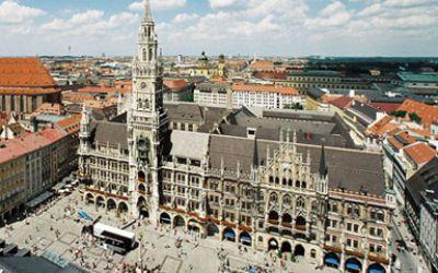 Neues Rathaus am Marienplatz