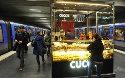 Kiosk im U-Bahnhof Odeonsplatz