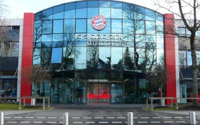 Eingang FC Bayern
