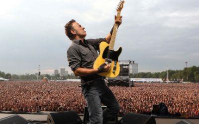 Bruce Springsteen auf Live-Konzert