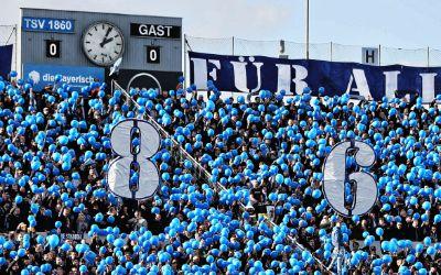 1860 München - Fans im Grünwalder