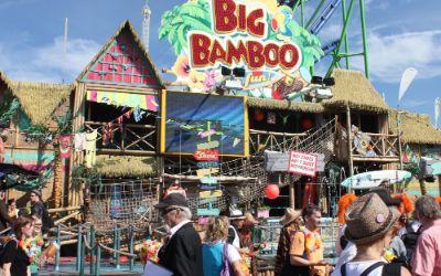 Big Bamboo Laufgeschäft auf dem Oktoberfest