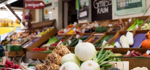 Gemüse auf einem Münchner Markt