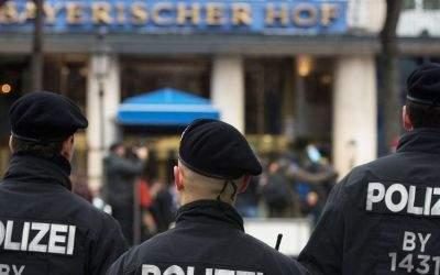 Die Münchner Polizei bei der Sicherheitskonferenz 2016