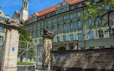 Das Münchner Polizeipräsidium in der Ettstraße