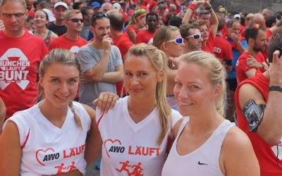 Run for Life Teilnehmer im Englischen Garten