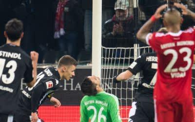 Der FC Bayern verliert gegen Gladbach