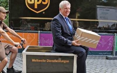 Eröffnung von City2Share Am Glockenbach mit OB Dieter Reiter