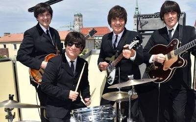 Die Darsteller des Beatles-Muscials