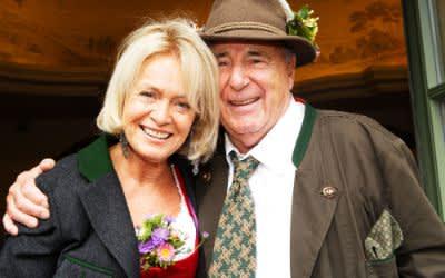 Roland Kuffler mit seiner Frau Doris