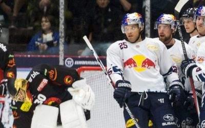 Partie EHC Red Bull München gegen SC Bern