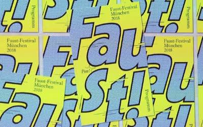 Plakate für das Faust-Festival 2018
