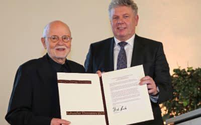 Kultureller Ehrenpreis 2017 - Günter Rohrbach