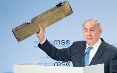 Benjamin Netanjahu auf der Münchner Sicherheitskonferenz.