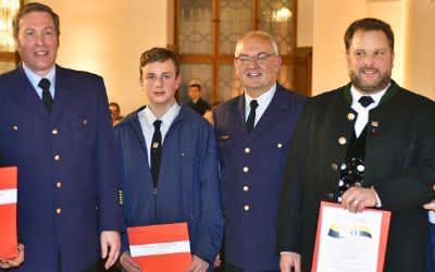 Neujahresempfang der Münchner Feuerwehr