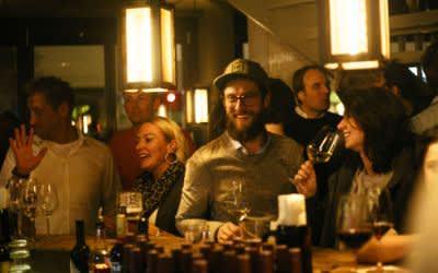 Heimwerk Glockenbach - Gäste bei der Einweihungsfeier