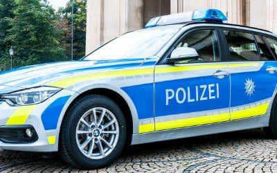 Symbolbild: Polizeiauto in München