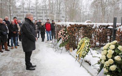 75. Todestag der Geschwister Scholl - Kranzniederlegung