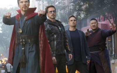 """Szene aus dem Film """"Avengers 3"""""""