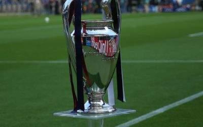 Der Champions-League-Pokal.