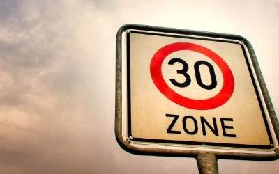 Schild Tempo-30-Zone