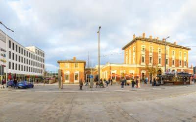 Der Pasinger Bahnhof