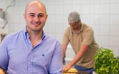 Florian Lechner, der neue Pächter des Café Mühle in Hellabrunn.